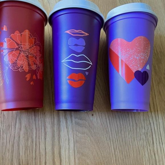NEW Starbucks reuseable cups❤️💞